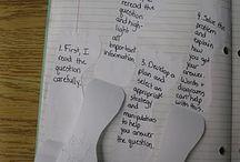 School - Math Notebook / by A+