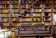 """Book love / """"Books to the ceiling,  Books to the sky,  My pile of books is a mile high.  How I love them! How I need them!  I'll have a long beard by the time I read them.""""   Arnold Lobel"""