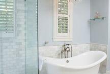 Incredible bathrooms / by Kate Andrews Hoult
