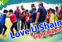 Love You Shaina    Odia Movie    Fight Making    HD Videos