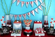 monster truck party / by Barbara Neely Designs