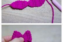 Laços em crochet