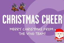 Vivo Christmas / T'is the season to be jolly - and don't we have some wonderful (healthy) festive offerings this year! Here's some inspiration for you...Ho Ho Ho!