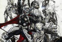 Avengers as a tattoo