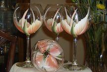 vidro pintado