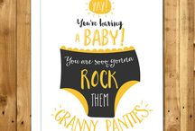 Greeting Cards by In A Nutshell Studio / Funny Cards. Naughty Cards. Honest Cards.