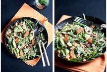 Dîner salades