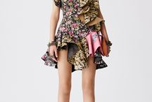 Runway Collections {Resort} / All the looks from Resort collections | fashion designers | fashion week | cruise collection | pre-spring | Alexander McQueen | lace | florals