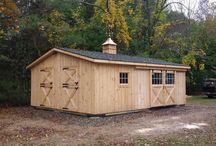 Modular Barns - 20'x24' Trailside / Spectacular 20'x24' Modular Trailside barn