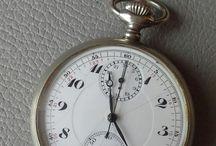 Minerva chronographe pocket watch