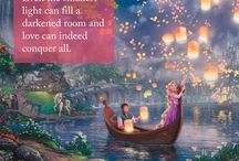 Valentine's Inspiration / Thomas Kinkade Paintings and Inspirational Quotes for Valentine's Day