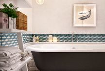 Salle de bain / by Merci Ginette