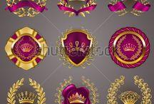 ribbon and badges