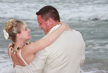 Kauai Beach Weddings / Kauai has beautiful beaches that make a great backdrop to your intimate, special wedding.