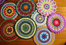 30C: Mandalas, doilies / patterns and tutorials for crohet mandala and doilies