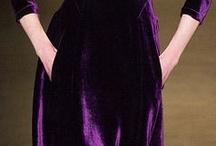 Fashion. Violet, Purple and Blue