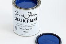 Napoleonic Blue Chalk Paint® decorative paint by Annie Sloan