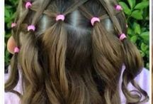 coiffure enfant fille