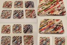 Crafts recycled mags / by Ericka Dickason