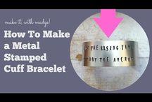 Craft Tutorials - Metal Stamping