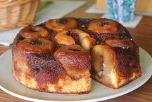 Almából készült torta