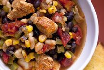 Super Bowl Recipes / Collection of diabetic friendly recipes that would be great for a Super Bowl party.