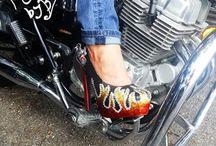 Badass Biker Chick