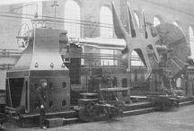 Kovodílny- historie,stroje