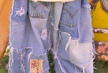 hergebruik / hergebruik van kleding stoffen e.d.