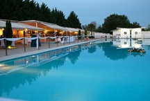 Gamos by the Pool / A wedding reception by the pool in the unique environment of the Wedding Venue Skaras Village.