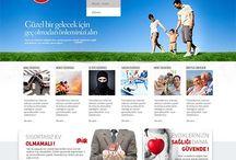 Finans-Sigorta Tasarımları / Web Tasarımı