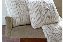 Interior details - pillows and fabrics