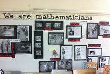 maths word wall ideas