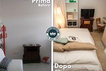 Home-staging / Ecco come appaiono i nostri appartamenti prima e, soprattutto, dopo il magico intervento delle nostre home stager!