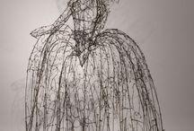 Sculpture: wire