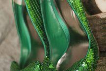 : poetic☚Green : / Bibbity Bobbity Boos of Emerald Green.