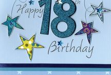 18th Birthdays / Cards & Gifts for a special milestone 18th Birthday.  Here's a collection of some of our most popular 18 greeting cards and gift ideas.  All available at Love Kate's.