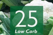 Cauliflower based recipes