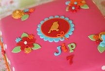 Meisjes taarten