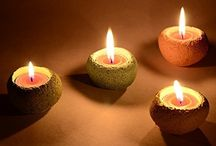 Concrete Candle Holder / Each Product is hand crafted by our artisans through an extensive four-step finishing process, guaranteeing a one-of-a-kind creation with subtle variations in color and texture. Each candle holder is beautifully designed to create a distinctive appearance, normally only found with natural carved stone. A unique gift option for Wedding, Diwali, Christmas and many other occasions. Special characteristics : 100% Eco Friendly 100% hand Crafted 100% Made in India