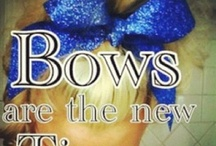 Cheer Bow Pros / by Carolyn Poppinga