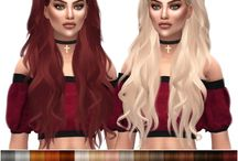 sims 4 long hair