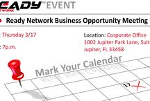 Ready Network Events /  Getting informed and providing a foundation of awareness.