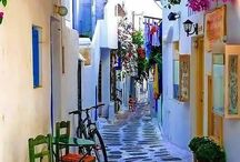I want to visit-Greece!