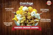 Cravings Gourmet Popcorn / Hand crafted, tempting and tasty treats of gourmet popcorn made by Cravings Gourmet Popcorn