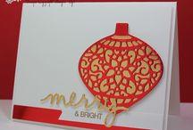 embellished ornaments - SU!