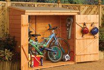 o u t s i d e / Outdoor Organizing + Storage