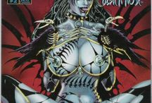 Tarot Witch of the Black Rose / Art from the comic series Tarot Witch of the Black Rose