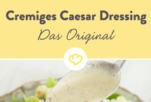Salat Dressings & Dips zum dippen & Butter