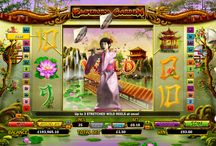 Emperor's Garden video slot / The empire is yours, with up to 3 Stretching Garden  Wilds on any Spin in this Asian-themed 5 reel 25 paylines video slot.